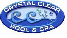 Crystal Clear Pool & Spa Maintenance Logo