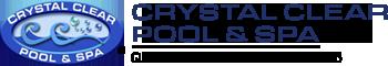 Crystal Clear Pool & Spa Maintenance Logo